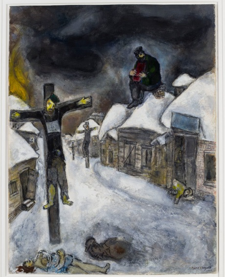 The Crucified 1944 MARK CHAGALL